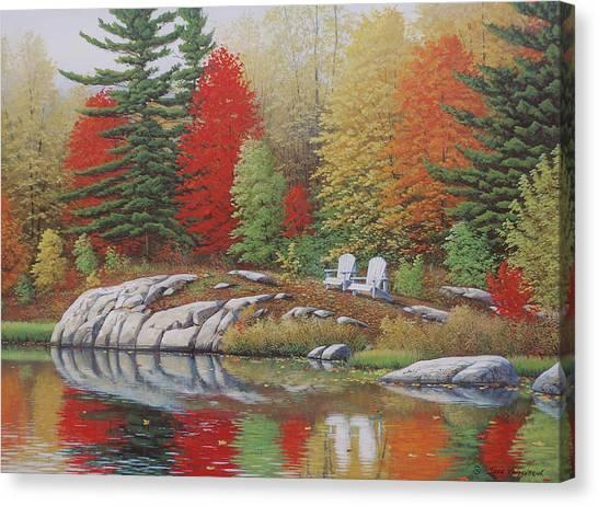 Preferred Seating Canvas Print