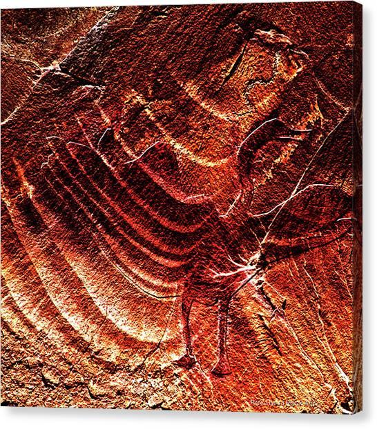 Prehistoric Bird Canvas Print