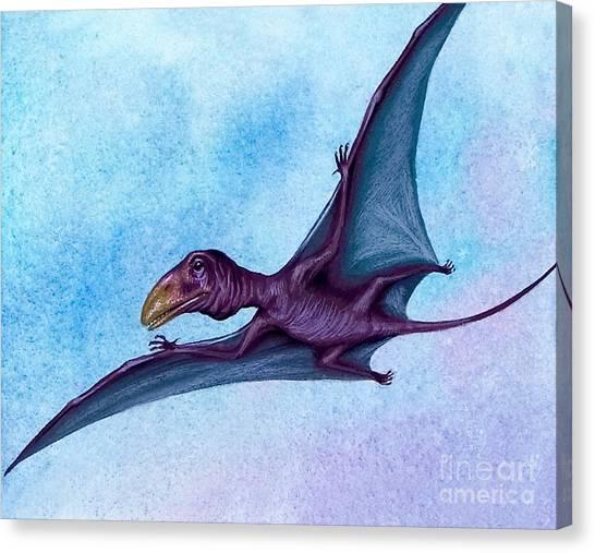 Jurassic Park Canvas Print - Prehistoric Bird by David Nockels