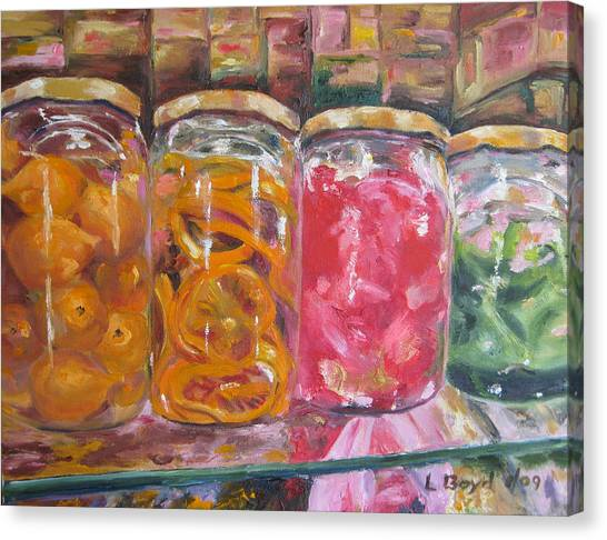 Preserves Spanish Market Canvas Print