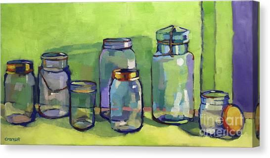 Preserving Color Canvas Print by Catherine Martzloff