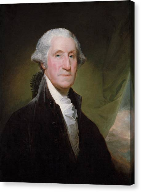 American Canvas Print - President George Washington by War Is Hell Store