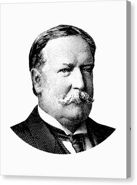 Republican Presidents Canvas Print - President William Howard Taft Graphic by War Is Hell Store