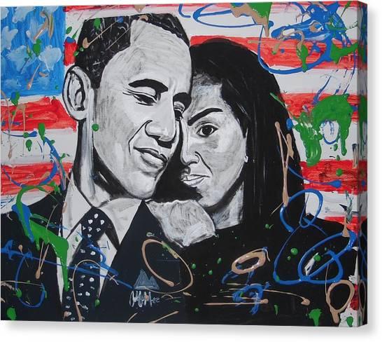 Presidential Love Canvas Print