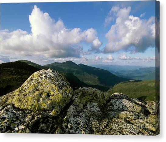 Presidential Range - White Mountains New Hampshire Canvas Print