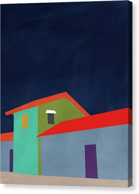 Simple Canvas Print - Presidio- Art By Linda Woods by Linda Woods