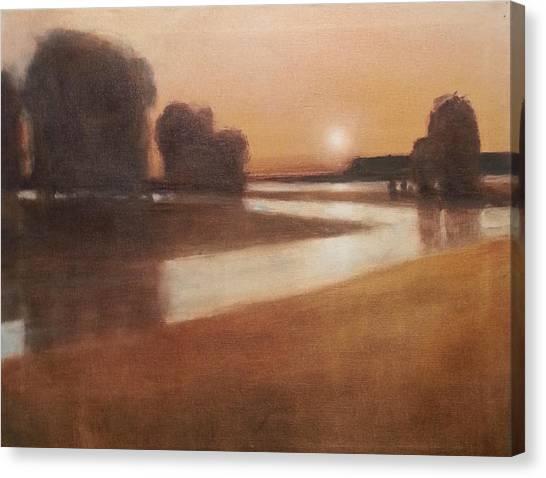 Preston Creek Flood Canvas Print