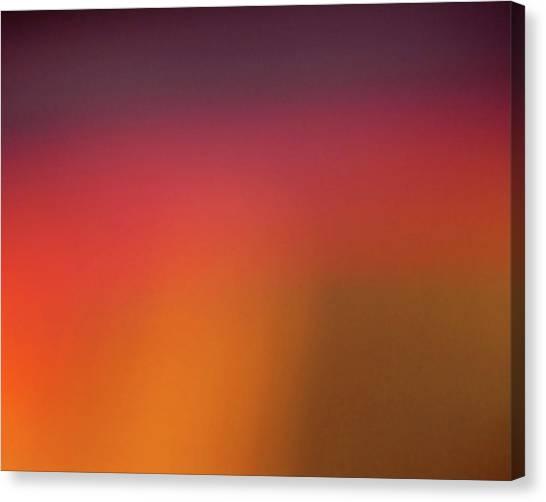 Pretend Sunrise Canvas Print