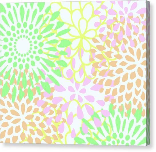 Pretty Pastels Canvas Print