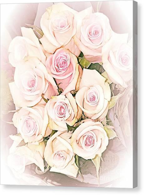 Pretty Roses Canvas Print