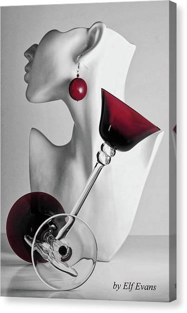 Pretty Woman 3 Canvas Print