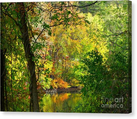 Prettyboy Of Autumn Canvas Print