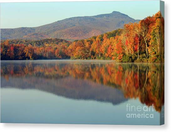Price Lake Canvas Print