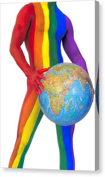 Pride Around The World Canvas Print by Filippo Ioco