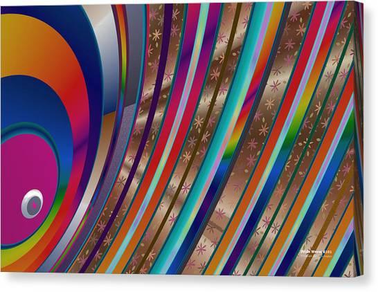 Pride Waves 2101 Canvas Print