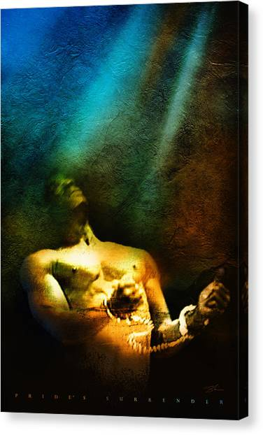 Pride's Surrender Canvas Print