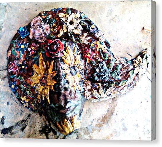 Ceramics Canvas Print - Primavera by Joana Lana