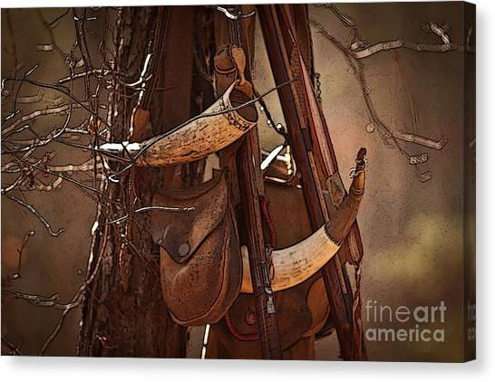 Primitive Arsenal Canvas Print