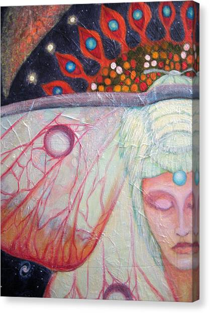 Primordial Cell Dreaming Canvas Print