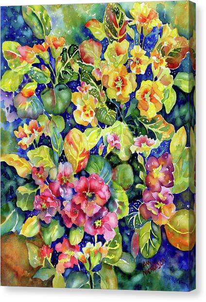 Primrose Patch I Canvas Print
