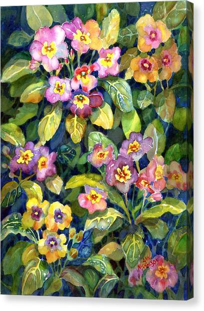 Primrose Patch II Canvas Print