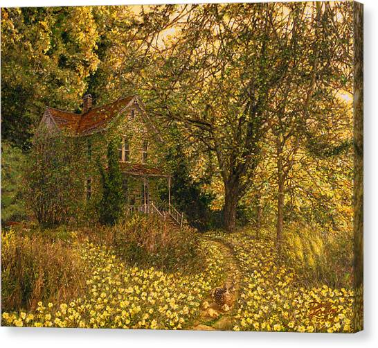 Primrose Path Canvas Print