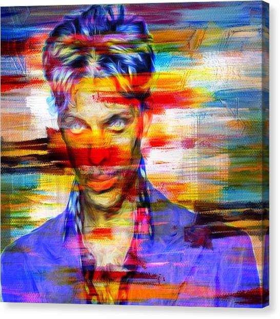 Prince Canvas Print - Prince & The Revolution. The Artist by David Haskett