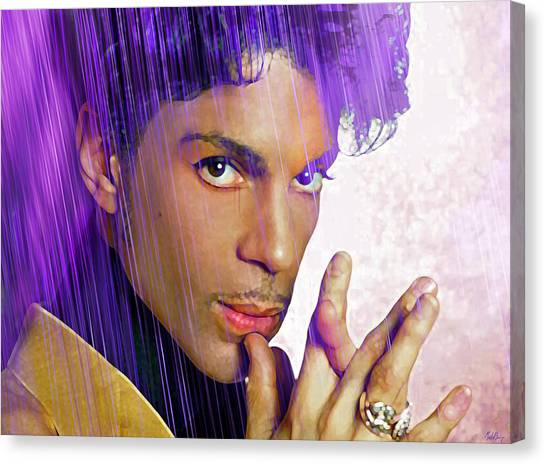 Prince For You Canvas Print