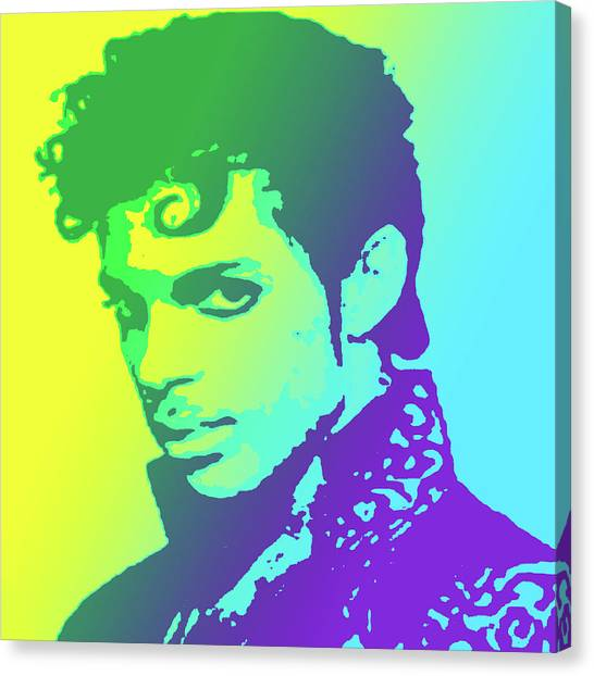 Prince Canvas Print - Prince by Greg Joens