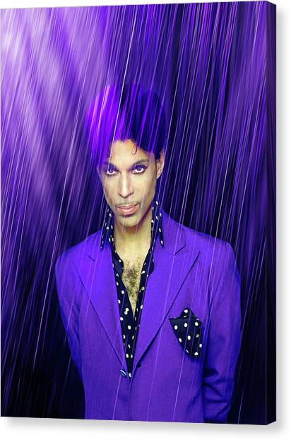 Prince Canvas Print - Prince by Mal Bray