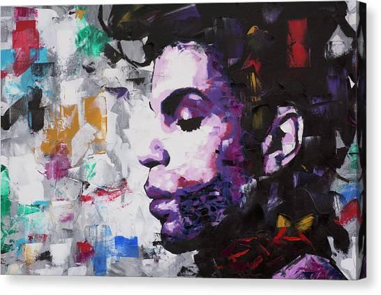Prince Musician II Canvas Print