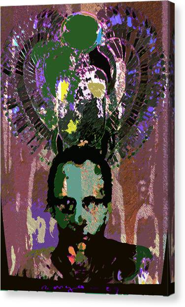 Prince Of The Nile 2 Canvas Print by Noredin Morgan