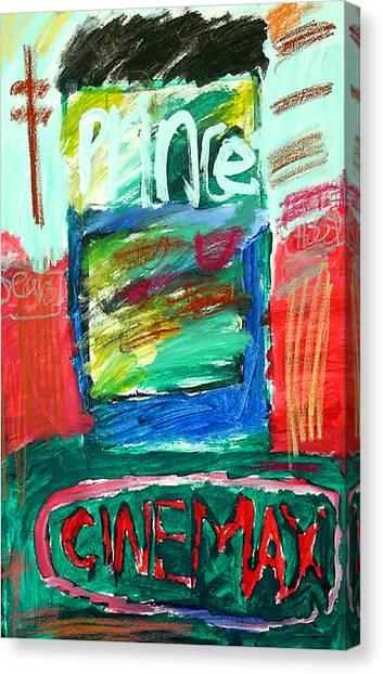 Prince Pasta Canvas Print by Andrew Hagopian
