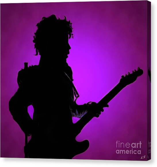 Prince Rogers Nelson Collection - 1 Canvas Print