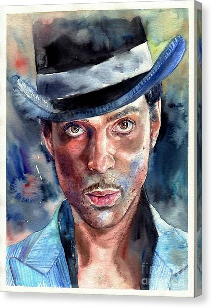 Prince Canvas Print - Prince Rogers Nelson by Suzann's Art