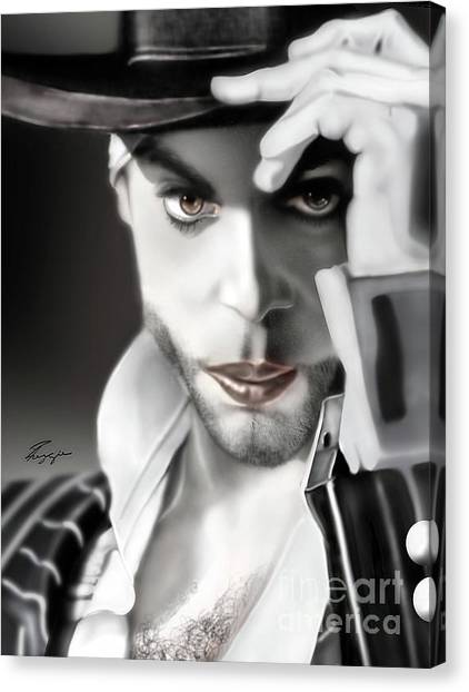 Prince The Eyes Have It 1a Canvas Print