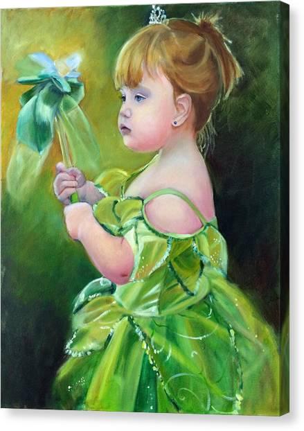 Princess Addie Canvas Print