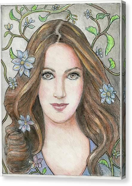 Princess Blue Canvas Print