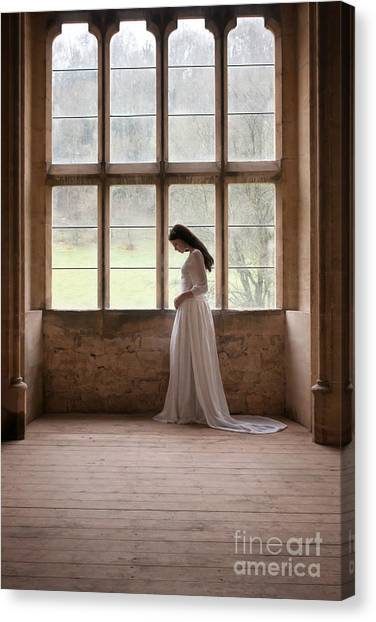 Princess In The Castle Canvas Print