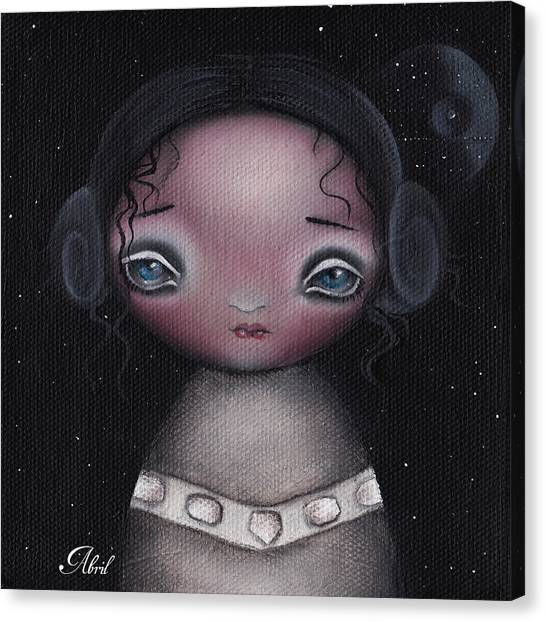 Leia Organa Canvas Print - Princess L by  Abril Andrade Griffith