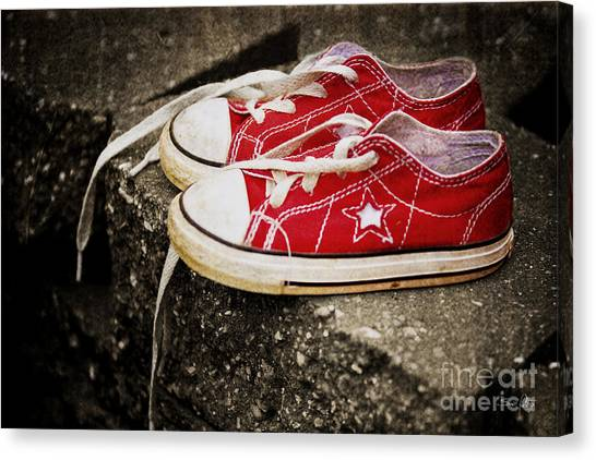 Princess Shoes Canvas Print