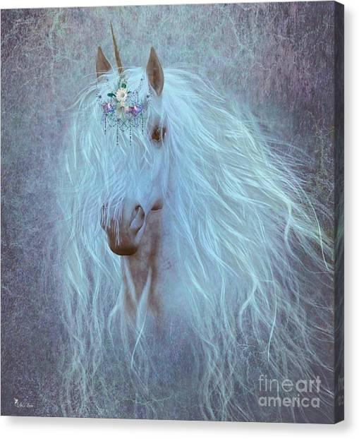 Princess Unicorn Canvas Print