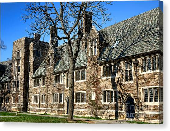 Princeton University Canvas Print - Princeton University 1901 Hall by Olivier Le Queinec