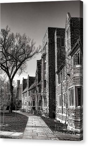 Princeton University Canvas Print - Princeton University 1901 Dorm Hall by Olivier Le Queinec