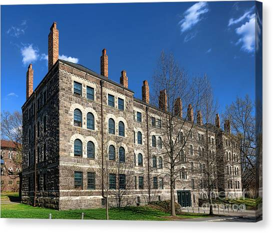 Princeton University Canvas Print - Princeton University Dod Hall by Olivier Le Queinec