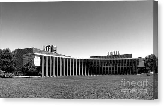 Princeton University Canvas Print - Princeton University Icahn Laboratory   by Olivier Le Queinec