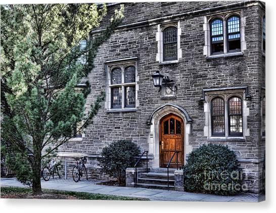 Princeton University Canvas Print - Princeton University Little Hall by Olivier Le Queinec
