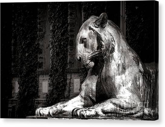 Princeton University Canvas Print - Princeton University Mighty Tiger  by Olivier Le Queinec