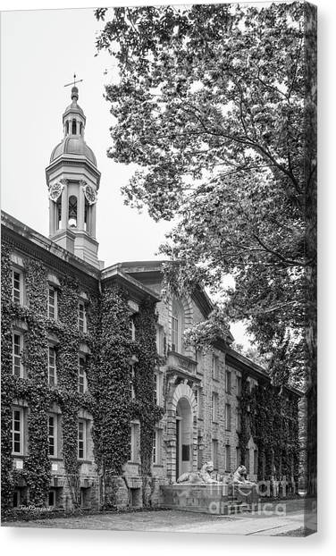 Princeton University Canvas Print - Princeton University Nassau Hall by University Icons