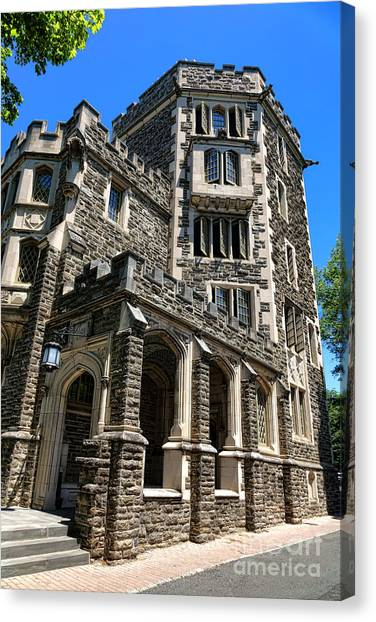 Princeton University Canvas Print - Princeton University Patton Hall by Olivier Le Queinec